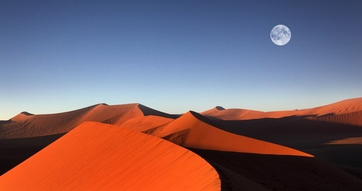 Visit the red sand dunes of Sossusvlei, always a popular inclusion to consider on your Namibia safari.