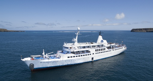 Cruising the Galapagos on board the Legend