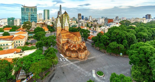 With a history going back hundreds of years,  Ho Chi Minh City (Saigon) is the business and financial hub of Vietnam