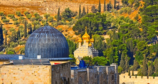 Mount of Olives in Jerusalem
