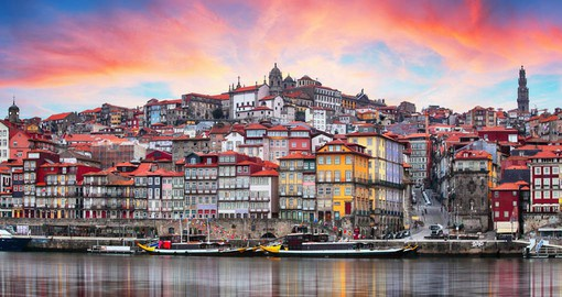 Portugal's second largest city is centred around the medieval old town of Porto Ribeira