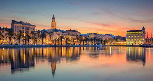 Split, Croatia's second-largest city is one of the Adriatic's most vibrant port cities