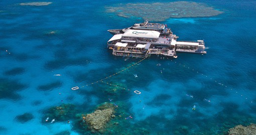 Quicksilver takes you to Agincourt Reef, at the very outer edge of the Barrier Reef