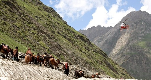Himalayan Pilgrimage by Horse & Helicopter
