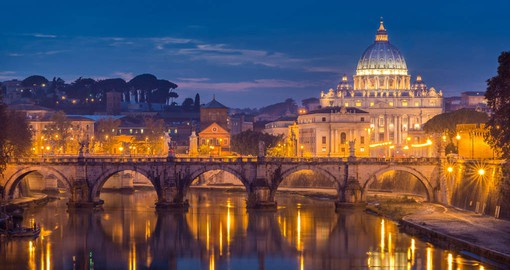 The Vatican's history as the seat of the Catholic Church began with the construction of a basilica over St. Peter's grave