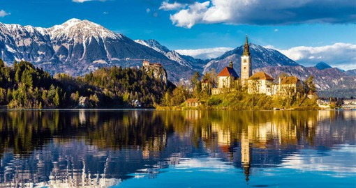 Picture perfect Bled is Slovenia's most popular resort