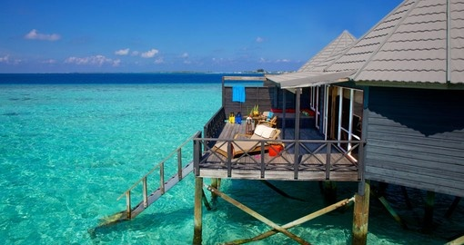 Relax on the ocean side Kuredu Island Villas on your Trip to Maldives