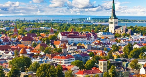 The Old Town of Tallinn is a highlight of your Estonia vacation