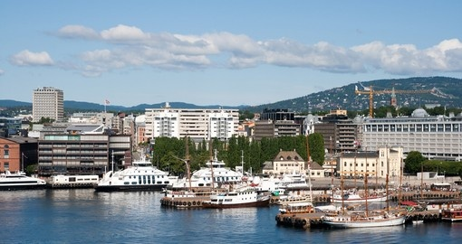 Oslo on the harbor