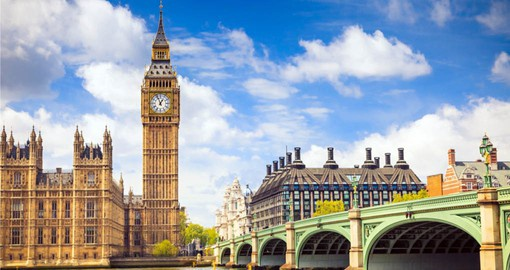 The great city of London is typically the starting point of many UK tours.