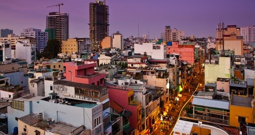 Ho Chi Minh City is the largest city in Vietnam