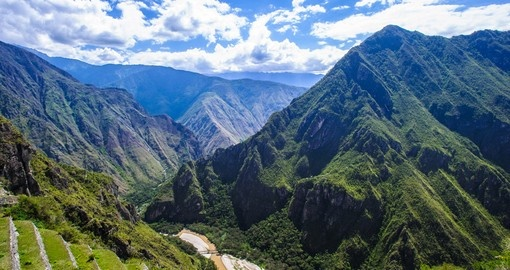 Don't forget to breathe when taking in the sweeping view of the Sacred Valley on your Peru Tour