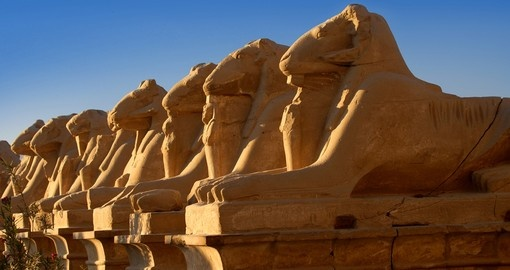 Sphinxes in Luxor is a must inclusion for your Egypt vacation.