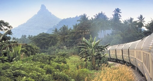 Your Thailand Vacation travels on the Eastern and Oriental Train