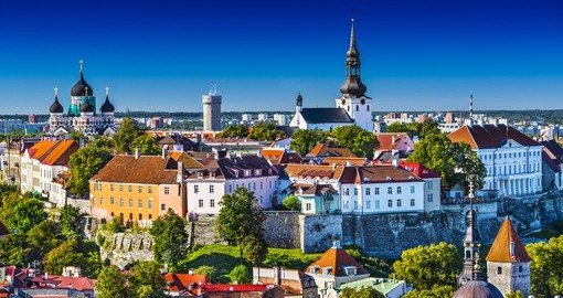 The colourful city of Tallinn is the base for your Estonia Tour