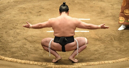 Sumo is Japan's national sport