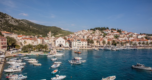 The popular Island of Hvar - Photo Credit Croatian National Tourist Board - Hrvoje Serdar