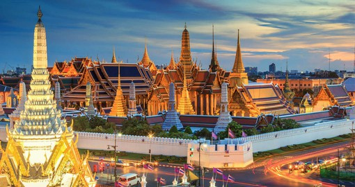 Built in 1782, the Grand Palace in Bangkok was the home of the Thai King