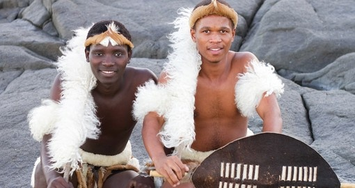 You will meet Zulu men during your next South Africa tours.
