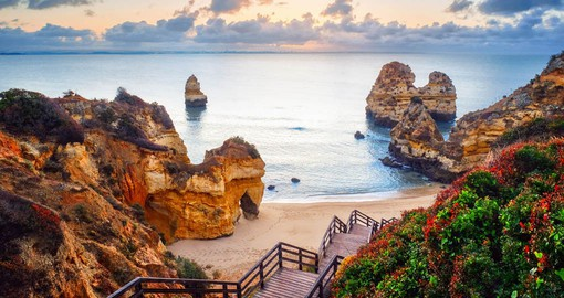 Praia do Camilo is one of the Algarve's most beautiful beaches