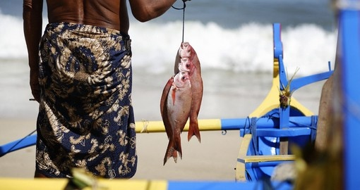 Try fishing in Bali during your Indonesia vacation.