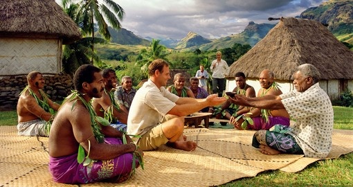 A Kava ceremony are the religious and cultural traditions of the Fijians and is a experience not be be missed on your Fiji vacation.