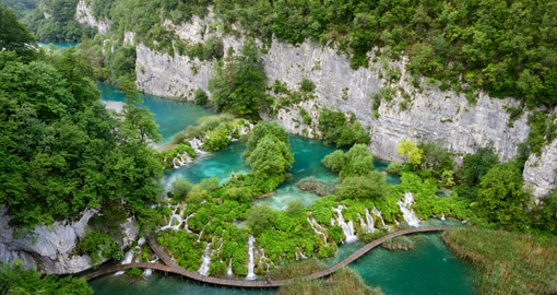 Plitvice Lakes is one of the world's most beautiful National Parks. Photo Credit - CNTB Luka Esenko