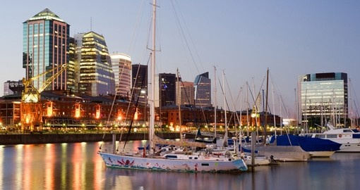 Discover Puerto Madero on your next Argentina vacations.