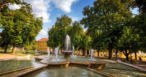 Visit beautiful Pecs, Hungary on your European toour