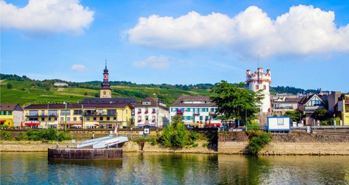 Visit picturesque on your Germany vacation. The town is famous for wine making