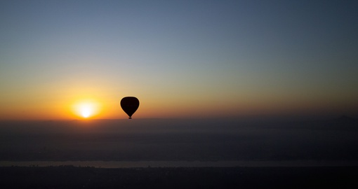 Hot air balloon experience in Egypt