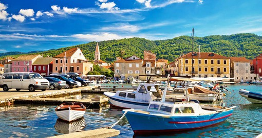 Hvar is Croatia's sunniest island and a favorite of the rich & famous
