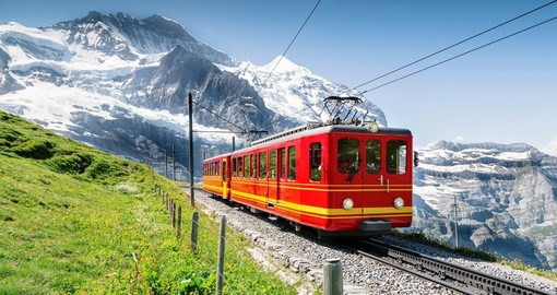 Have a ride on Jungfraujoch Railway and experience  the ride during your next Switzerland tours.