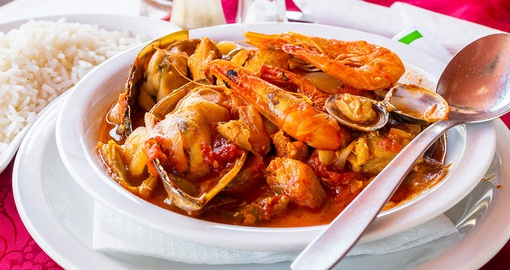 Enjoy traditional food on your trip to Portugal