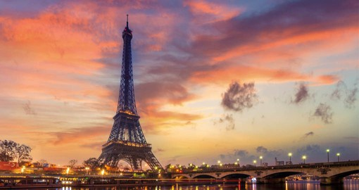Paris, one of the most visited cities in the world, is blessed with iconic structures