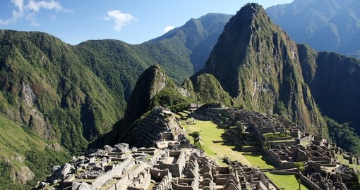 Visit the Lost City of Machu Picchu on yoru South America Tour