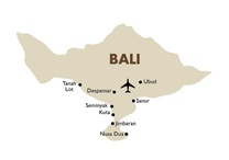 Bali Destination Map