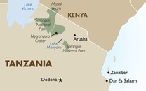 Tanzania Country Map