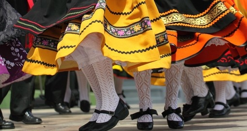 Traditional Spanish dance