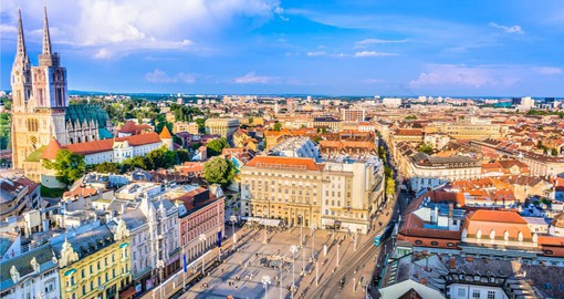 Begin your Croatia vacation in historic Zagreb