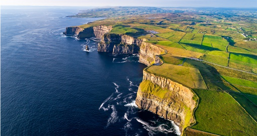 Visit the Cliffs of Moher on your Ireland Tour