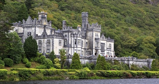 Visit Kylemore Abbey in Connemara National Park during your next Ireland tours.