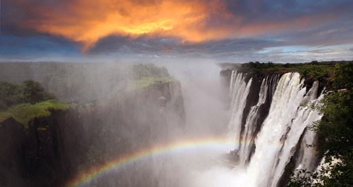 Victoria Falls - without doubt one of the highlights of all Zambia safaris.