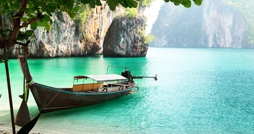 The long-tail boat is native to Southeast Asia and is a great addition for all Thailand tours.