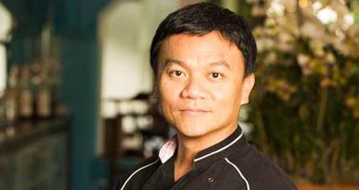 Ian Kittichai is a member of Iron Chef Thailand and has a fan following of more than 15 million