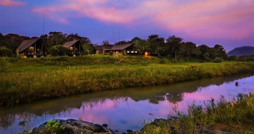 Amakhosi Safari Lodge, is situated in the heart of Northern Zululand on the banks of the Mkuze River
