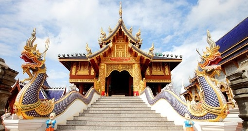 Journey throughout Thailand and visit many ancient temples on your Thai Vacation