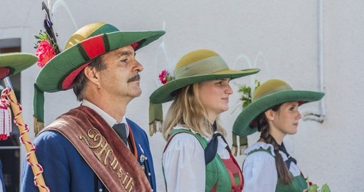 Traditional Austrian costumes