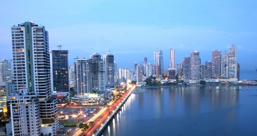 Visit cosmopolitan Panama City on your Panama Tour