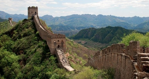Experience The Great Wall on your next China Vacations